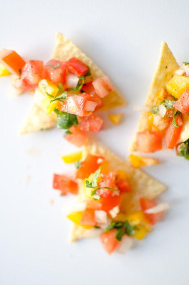 Pico De Gallo Salsa | Summer Snacks | Pinterest