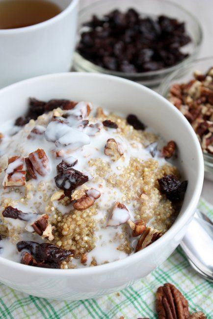 Breakfast Quinoa - The Kitchen Paper Skip the Sugar. We replace ...