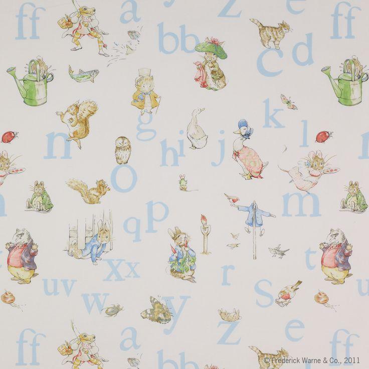 beatrix potter alphabet paper