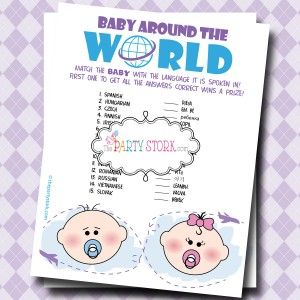 easy baby shower games ideas party ideas pinterest