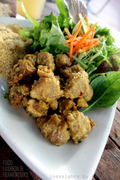 Tofu and Wild Mushroom Salad with Couscous | From Bookish Cafes to ...