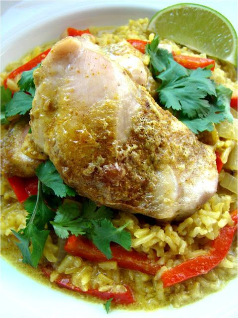 Coconut curry chicken and rice | the Main Event | Pinterest