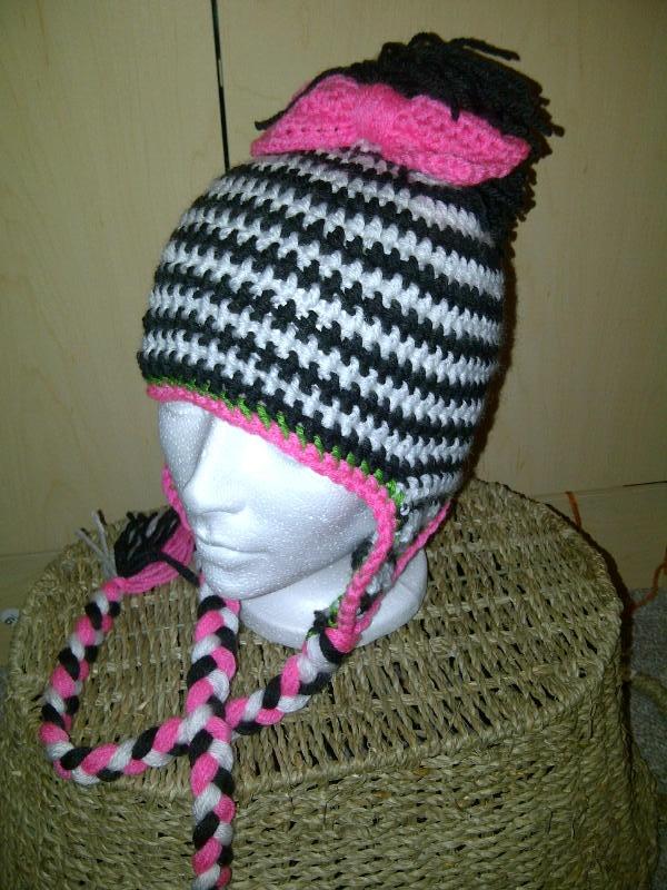zebra crochet hat Amigurumi, Knit & Crochet Pinterest