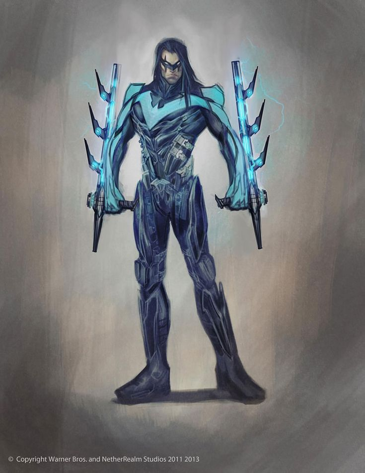 Nightwing Design Concept for Injustice: Gods Among Us