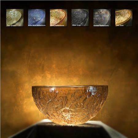 12 Inch Vessel Sink : 12-inch Borosilicate Glass Vessel Sink, $450.00 on www.sinksgallery ...