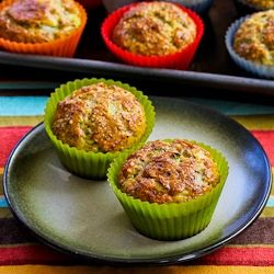 Flourless Egg and Cottage Cheese Savory Breakfast Muffin Recipe (Nutr ...