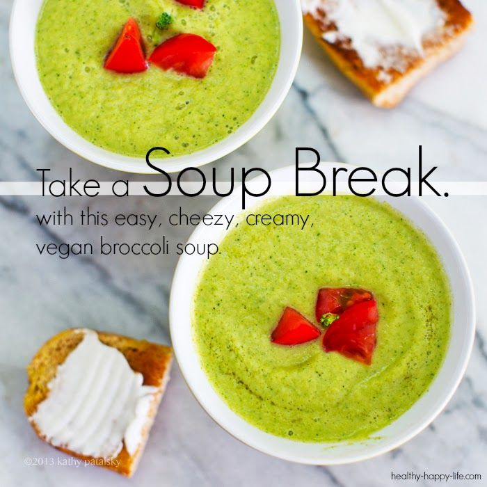 Easy Creazy Broccoli Soup! | try recipes | Pinterest