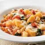 Made this tonight! Skillet Gnocchi with Swiss Chard and White Beans