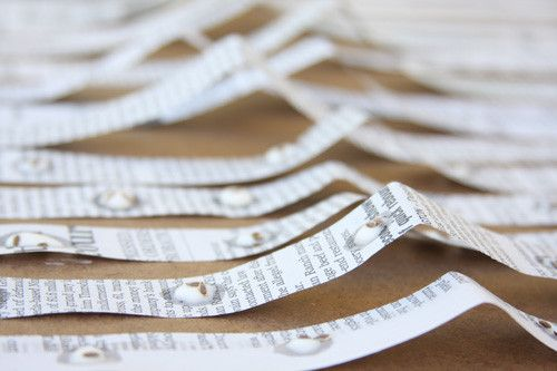 DIY seed tapes for your organic garden