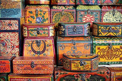 //tibetan boxes//