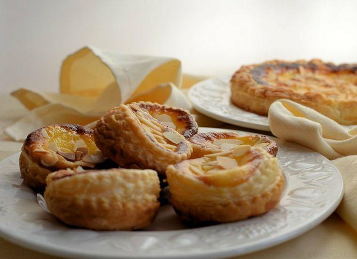 Almond and Vanilla Custard Tarts - Great British Chefs