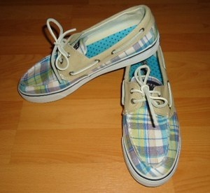 Mint Green Shoes Women | MINT-Womens-Sperry-Top-Sider-Biscayne-2-Eye