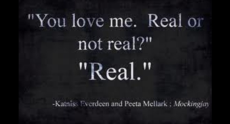 Peeta Katniss Together Love Quotes
