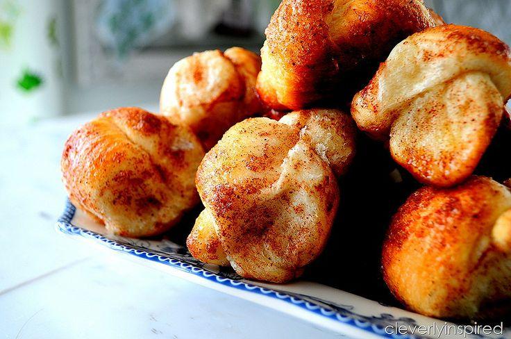 easy cinnamon knots recipe @cleverlyinspired (3) / rhodes frozen ...