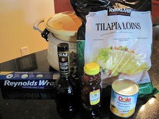 orange honey tilapia | Yummy Food | Pinterest