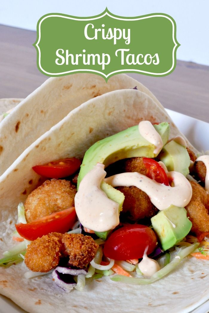 Crispy Shrimp Tacos - A Delicious Meal Ready in 15 Minutes! {The Love ...