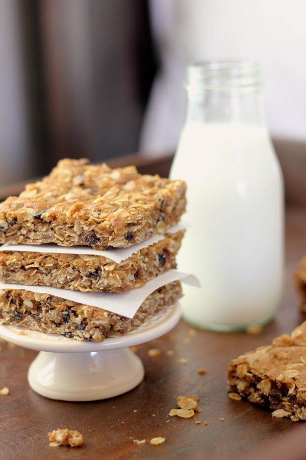 Brown Butter Oatmeal Currant Cookie Bars | Baking | Pinterest