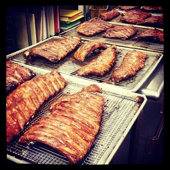 char siu ribs for daaaays | Our Food at Mei Mei | Pinterest