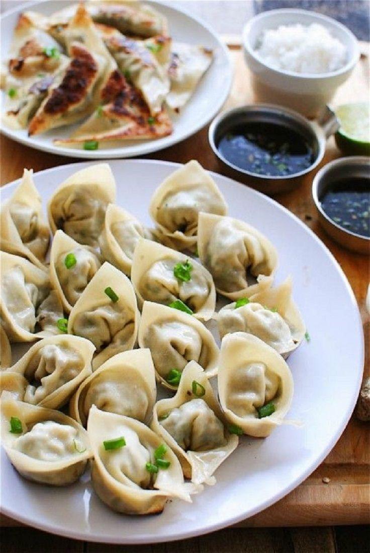 Pan-Fried Pork Dumplings | Cooking & Craft Projects | Pinterest