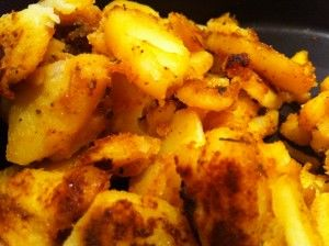These quick and easy garlic home-fries are filling, comforting ...