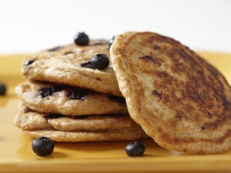 Blueberry and Lemon Zest Whole-Wheat Pancakes | Recipe