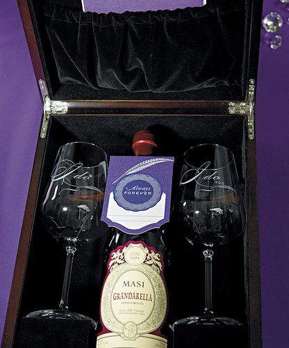 Love Letter Ceremony Wine Box Set Keepsake Wedding Unity
