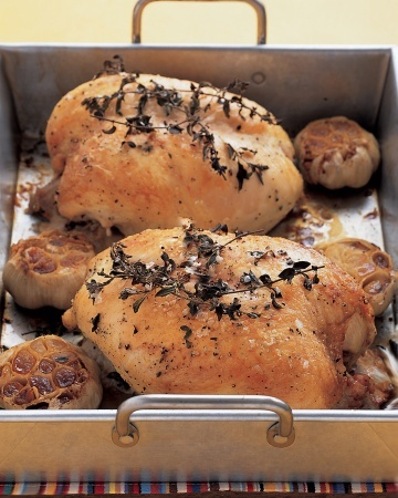 Garlic-Roasted Chicken Breasts