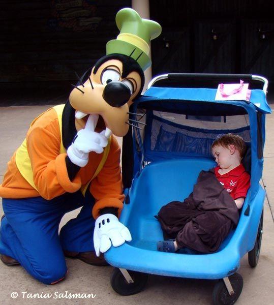 Goofy says  Quiet some...