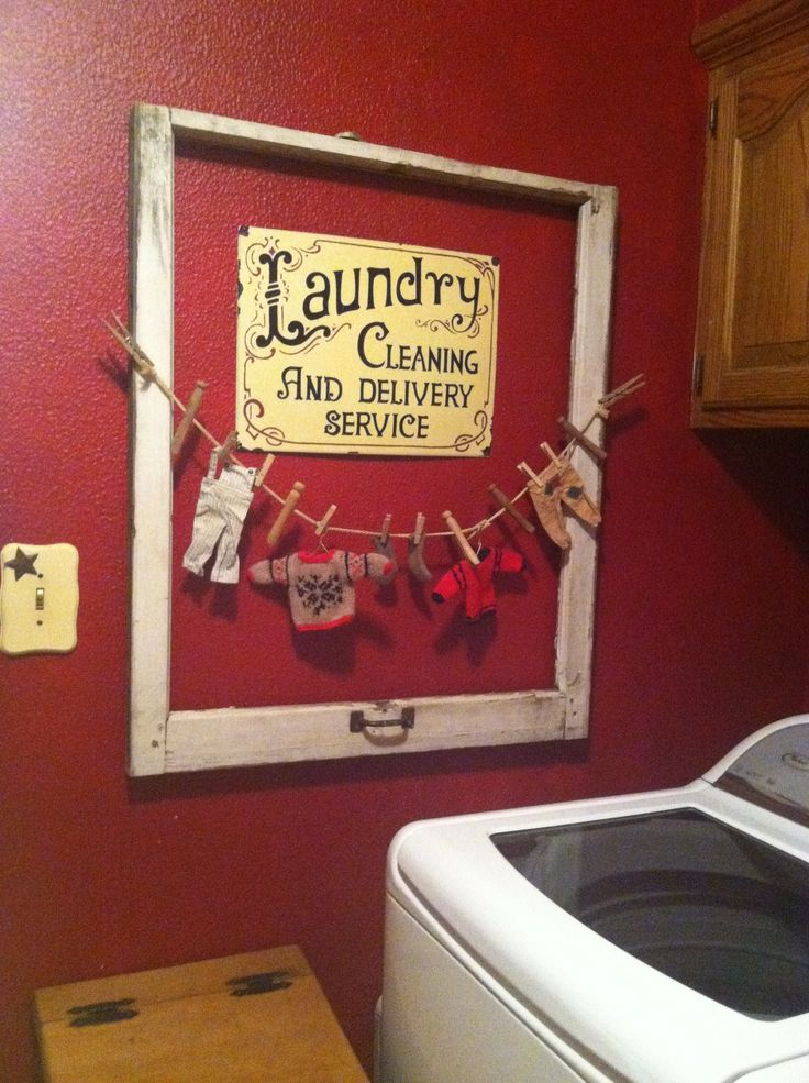 Laundry Room Decor For The Home Pinterest