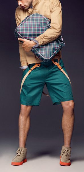 teal shorts. DO IT.