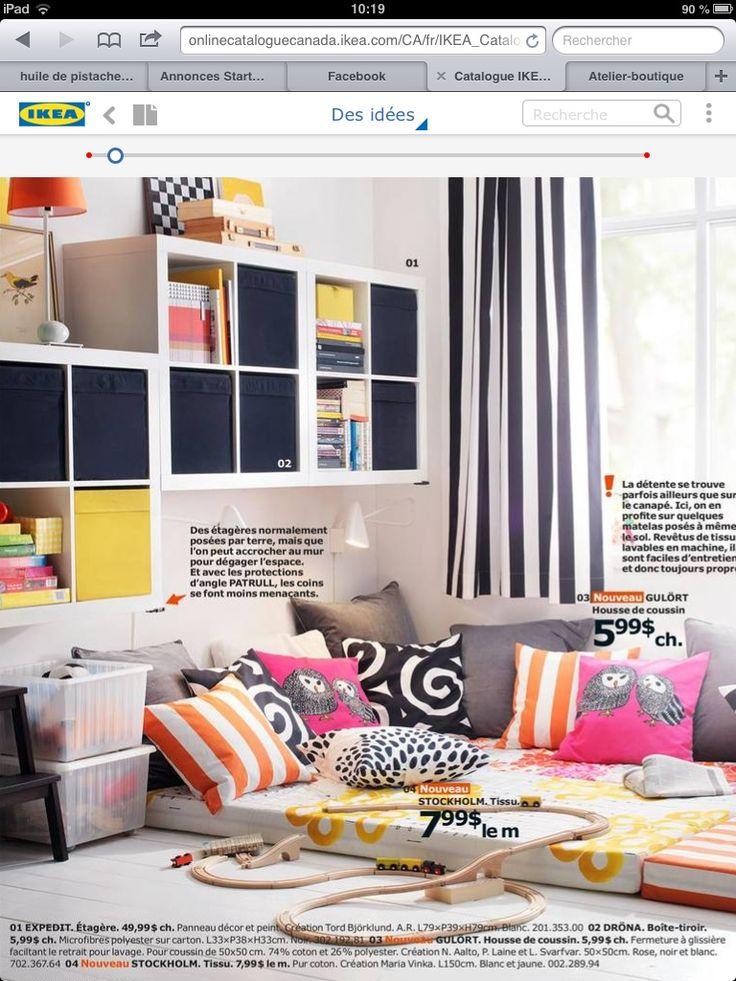 Dressing Table Ikea Hackers ~ Étagères expedit ikea a fixer au mur (pour ranger laines et tissus)