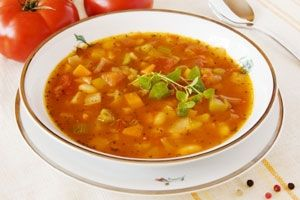 Dr. Oz's Belly-Blasting New Year's Soup --- Daniel Fast, when using veggie broth instead of chicken broth!