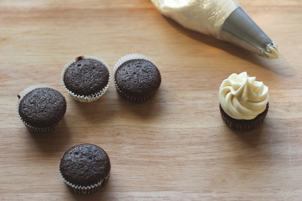chocolate stout cupcakes with bailey s cream cheese frosting