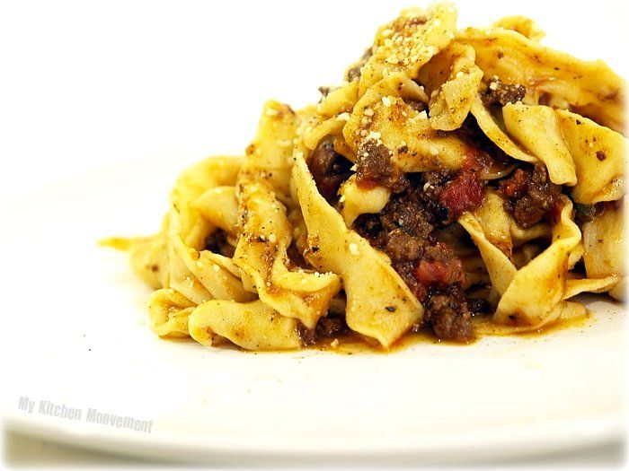 Pappardelle with Bolognese | the restaurant that lives in my head | P ...