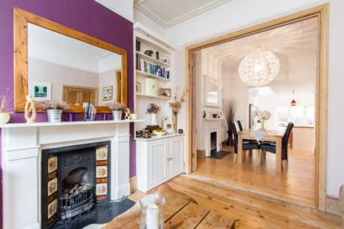 Pin by angele on home extension pinterest for Victorian terrace dining room ideas