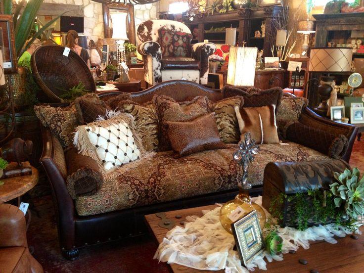 Calamity Janes Trading Co., Boerne, TX  Custom sofa