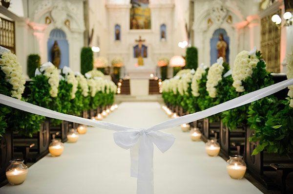 decoracao igreja casamento