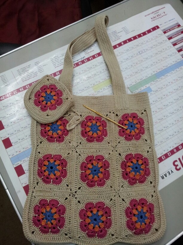 Crochet Bags Pinterest : crochet bag Rogaya Pinterest
