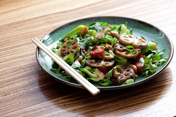 Maple & Sesame Root Vegetable Stir-Fry   Recipe