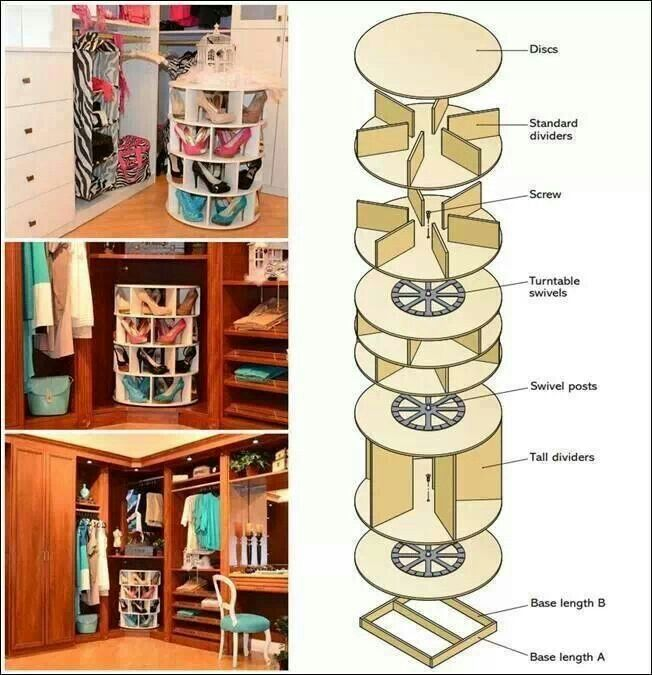 Meuble chaussure do it yourself pinterest - Meuble a chaussure tournant ...