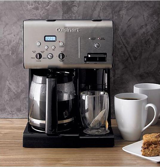 Using Hot Water In Coffee Maker : Cuisinart Programmable 12 Cup Coffee Maker with Hot Water System