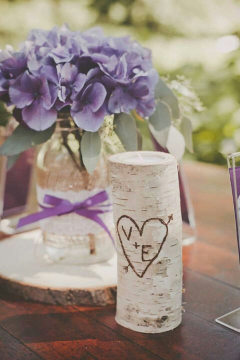 Rustic mason jar centerpiece wedding pinterest