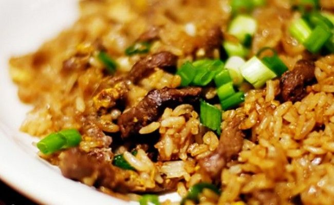 beef fried rice chinese dish | Chinese Food | Pinterest