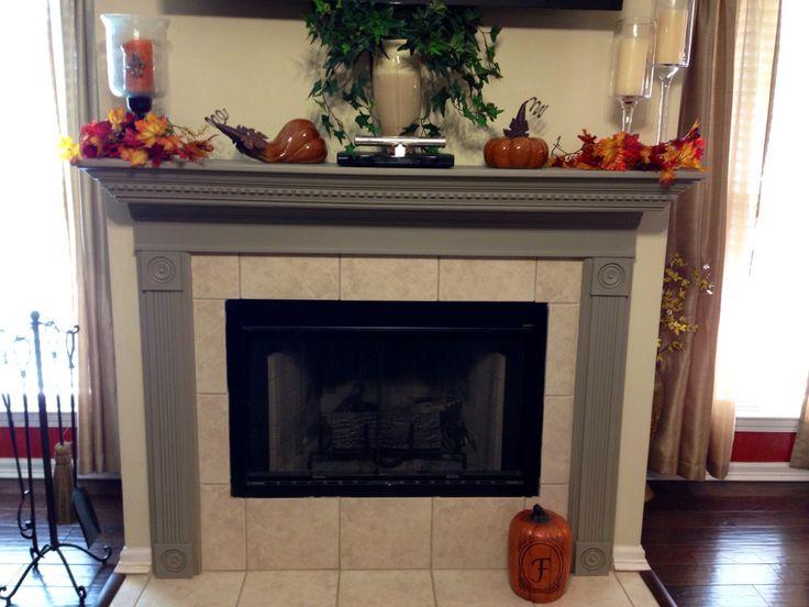 Fireplace Redo Fall Pinterest