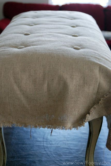 Banc Coussin Makeover