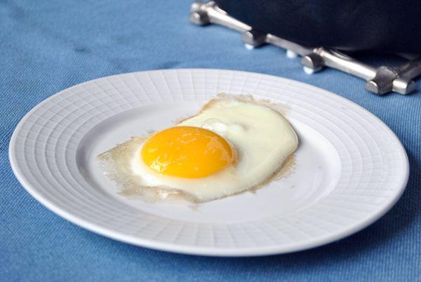 The Perfect Fried Egg a la John Besh