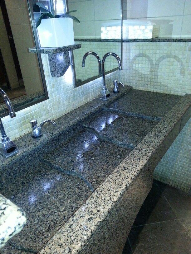 Cool bathroom sink.
