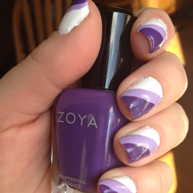 Stripes w  Zoya Mira  amp  Snow WhiteZoya Snow White