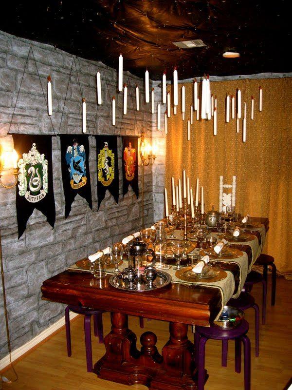 harry potter hogwarts party theme love pinterest. Black Bedroom Furniture Sets. Home Design Ideas