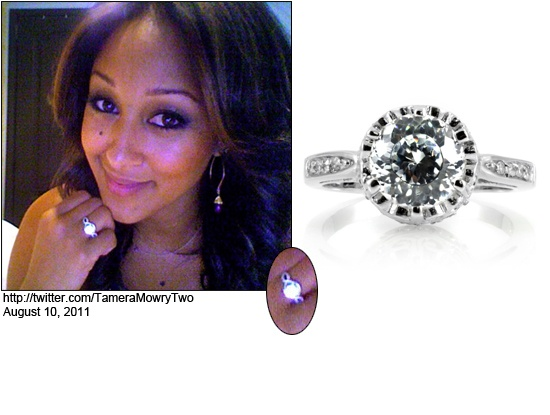 Tamera Mowry 39 S Engagement Ring How Sweet It Is Pinterest